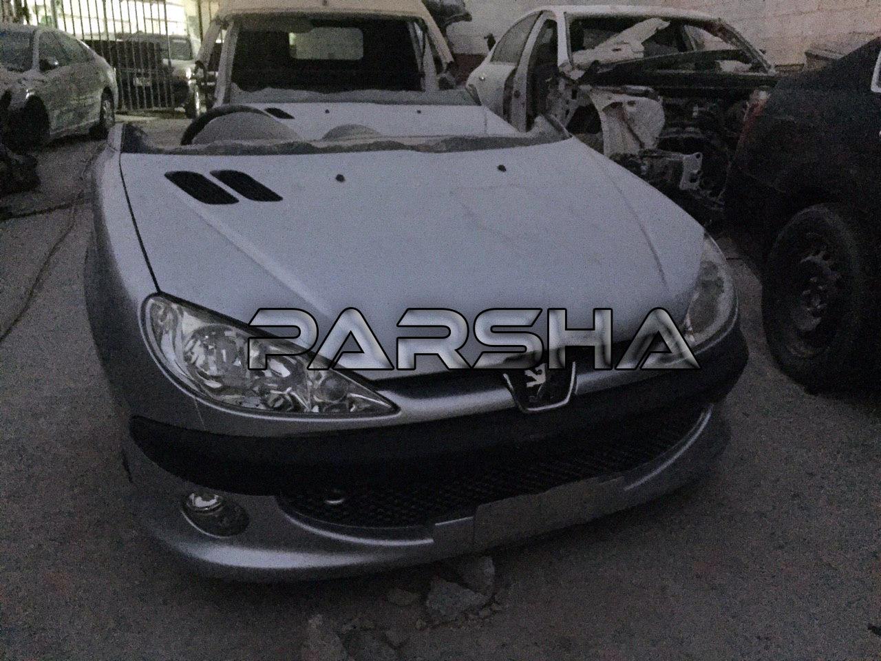 Peugeot 206 Rc Halfcut Parsha Part